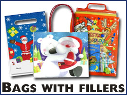 Bags with fillers